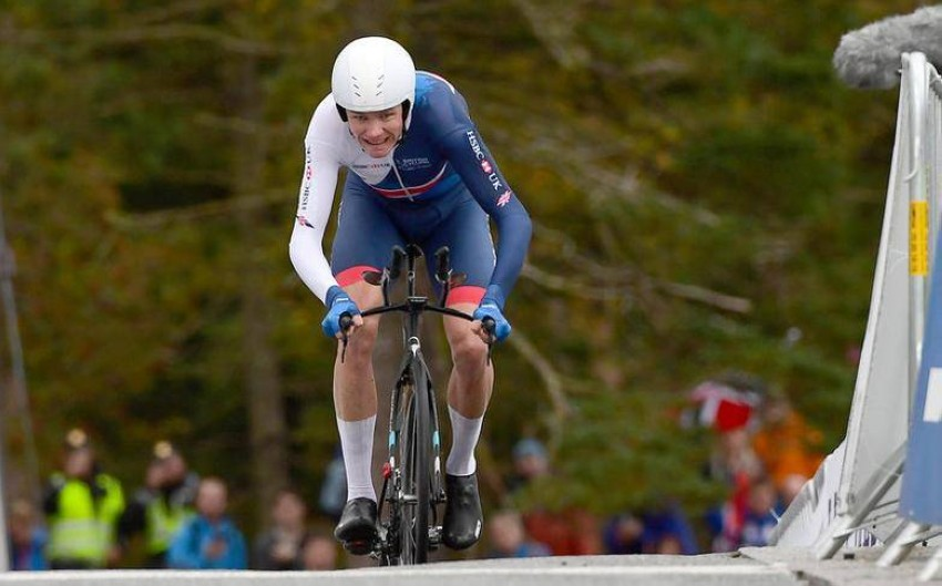 متسابق الدراجات البريطاني كريس فروم. (رويترز)