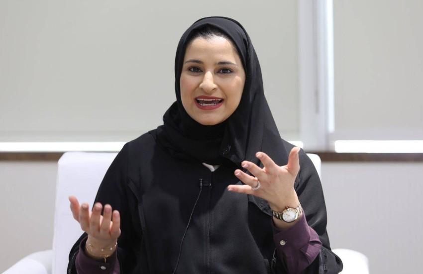 سارة بنت يوسف الأميري. (وام)