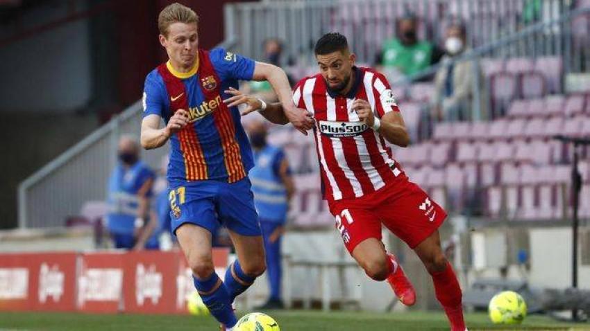 برشلونة وأتلتيكو مدريد (AP)