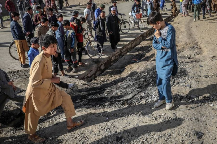 توقعات بزيادة العنف في أفغانستان بعد الانسحاب الأمريكي. (أي بي أيه)