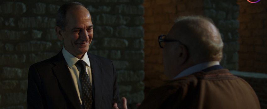 هشام سليم في لقطة من مسلسل هجمة مرتدة.