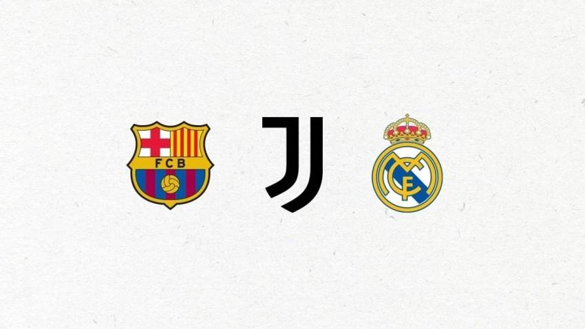 ريال مدريد وبرشلونة ويوفنتوس. (كوريرى ديلو سبورت)