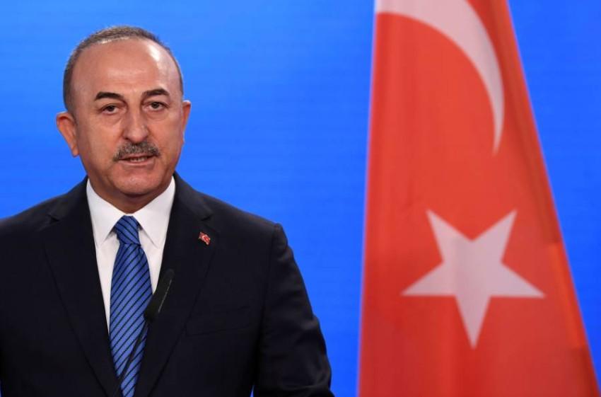 وزير الخارجية التركي مولود تشاوش أوغلو.
