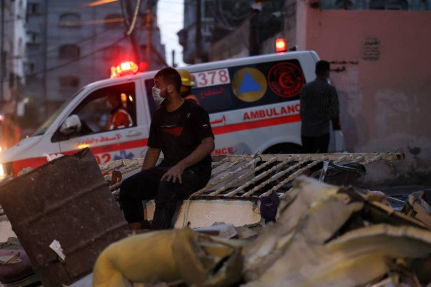 الاتحاد الأوروبي يدعو إلى إنهاء «التصعيد الكبير في العنف» في قطاع غزة والقدس - أ ف ب.