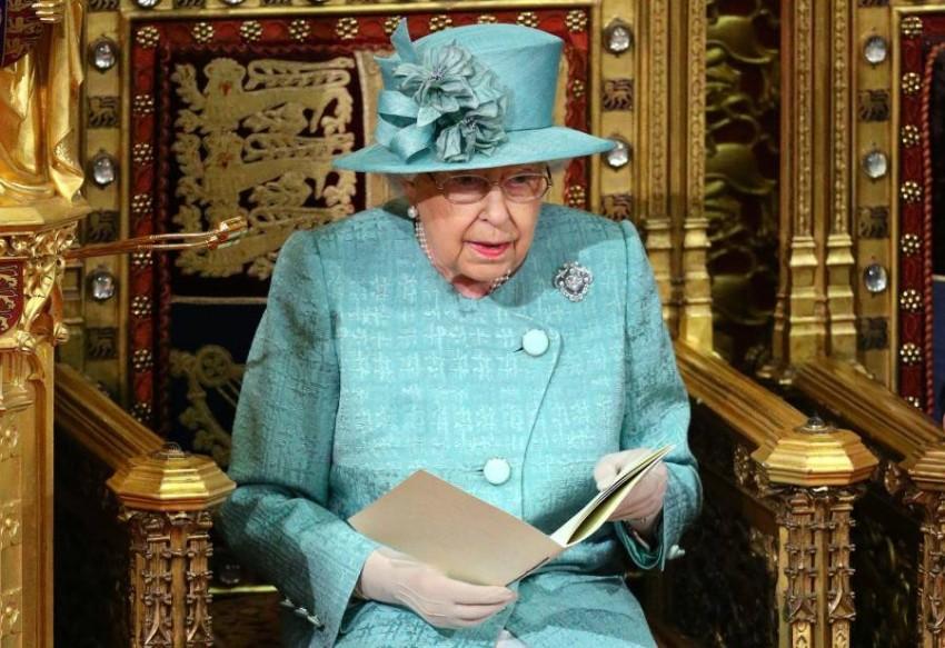 الملكة إليزابيث - أ ف ب.