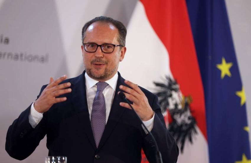 ألكساندر شالينبرج وزير خارجية النمسا - رويترز