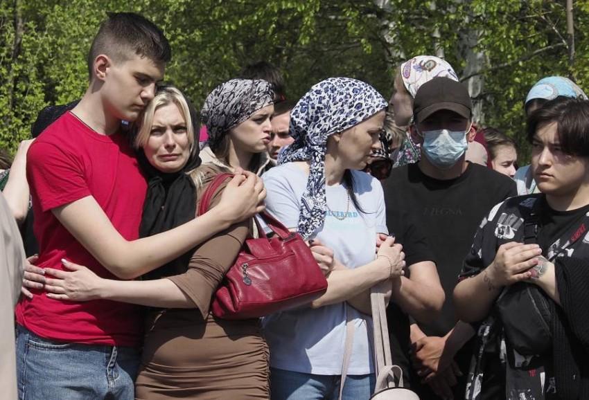 تسعة أشخاص -أغلبهم أطفال- قتلوا في الهجوم. (أ ب)