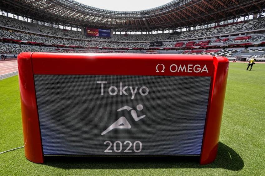من تصفيات أولمبياد طوكيو. (رويترز)