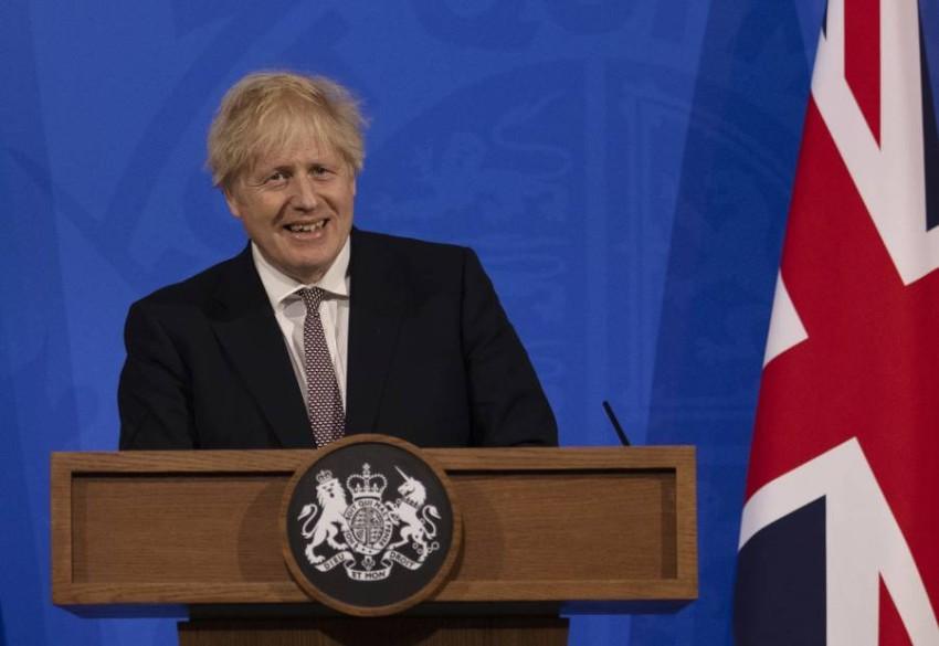 رئيس الوزراء البريطاني. (أ ب)