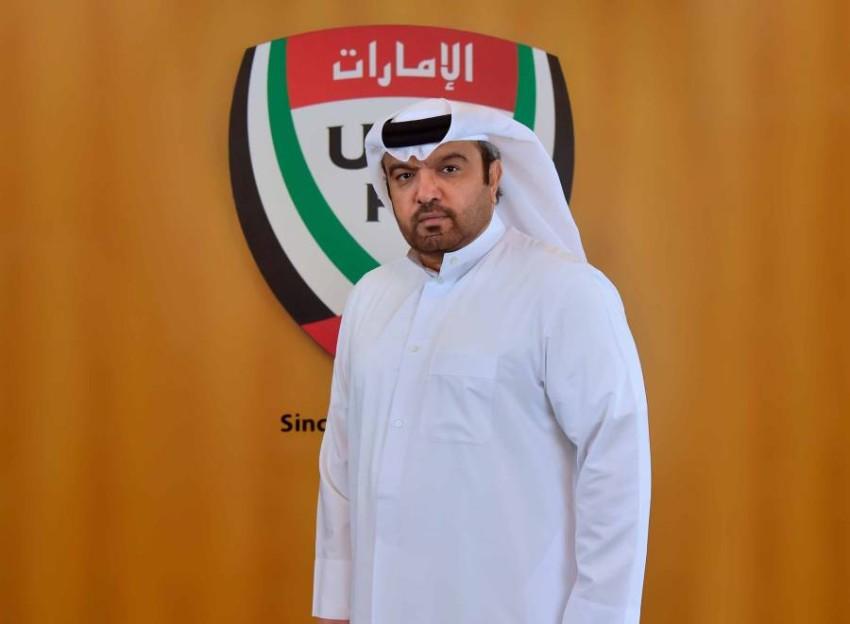 يوسف حسن السهلاوي نائب رئيس اتحاد الكرة. (الرؤية)