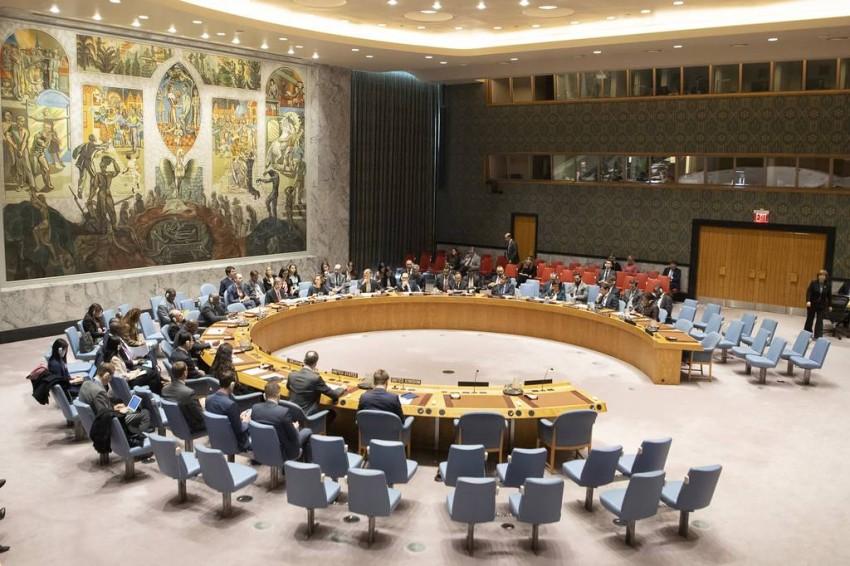 جلسة لمجلس الأمن حول الشرق الأوسط في مارس.( الأمم المتحدة)