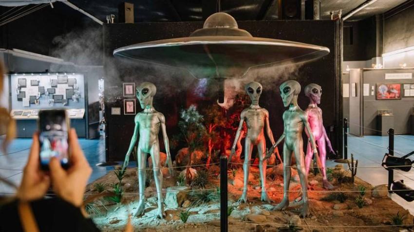 متحف الأطباق الطائرة نيوميكسكو