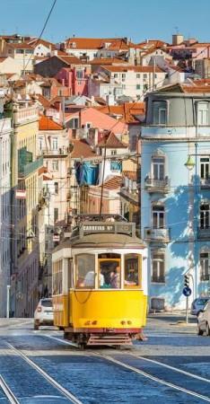 الترام في البرتغال