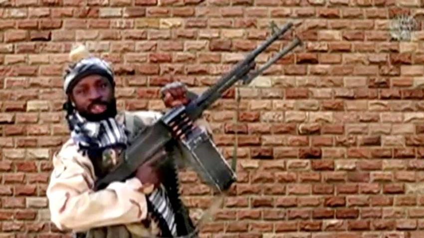 شيكاو واجه قوة من داعش وسط الغابة التي كان يختبئ داخلها في شمال شرق نيجيريا.