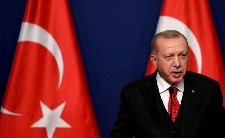 أردوغان - رويترز.