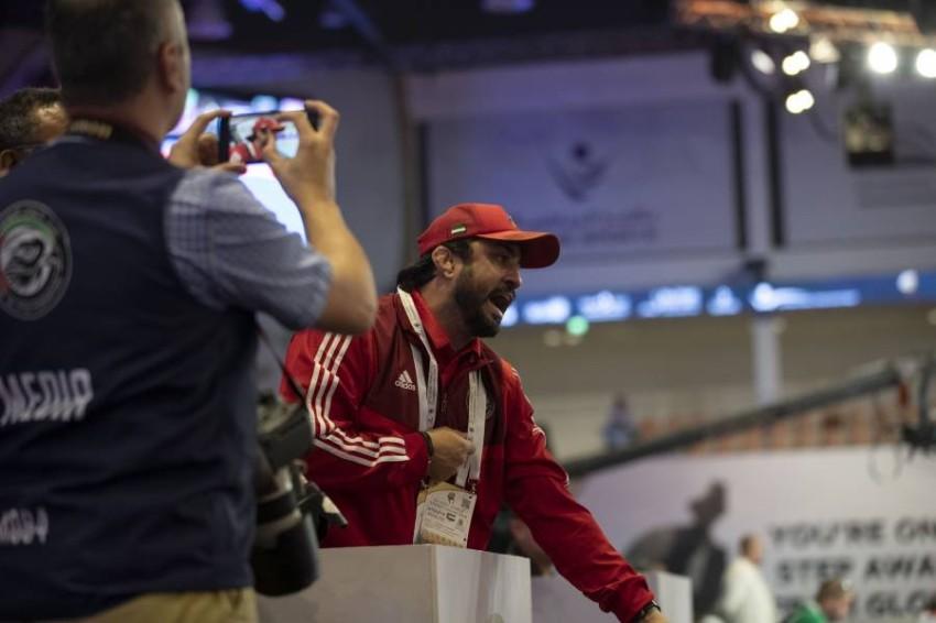 رامون ليموس المدير الفني لمنتخب الإمارات للجوجيتسو. (الرؤية)