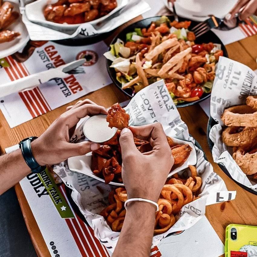 الطعام في Original Wings & Rings