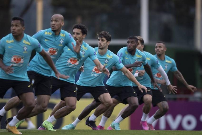 تدريبات منتخب البرازيل. (موقع الاتحاد البرازيلي الرسمي)