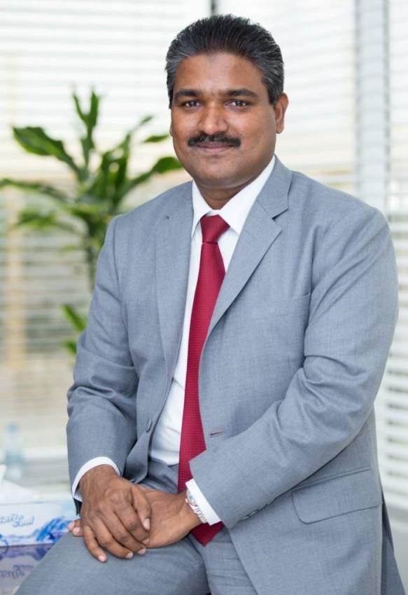 عبدالجبار بي بي، العضو المنتدب لشركة «هوت باك» الدولية.