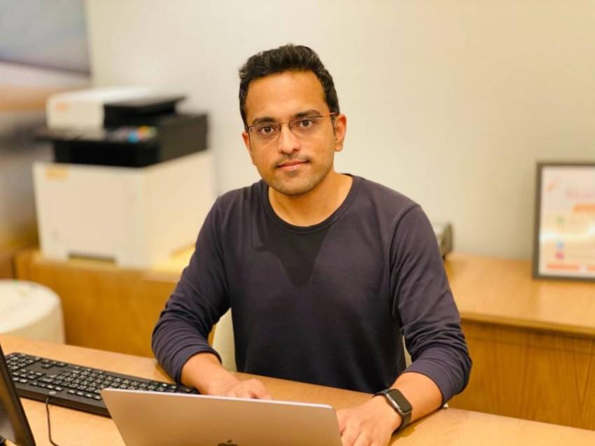 رائد الأعمال الهندي جوراف سينغ، المؤسس والرئيس التنفيذي لدى «فيرلوب .آي»