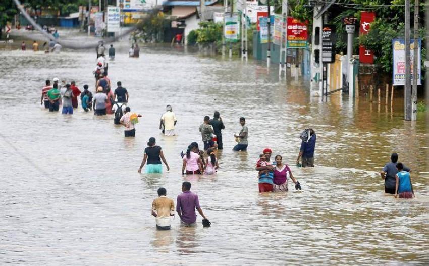 فيضانات في سريلانكا. (رويترز - أرشيفية)