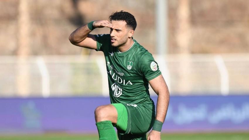عمر السومة لاعب أهلي جدة. (الحساب الرسمي للنادي الأهلي)