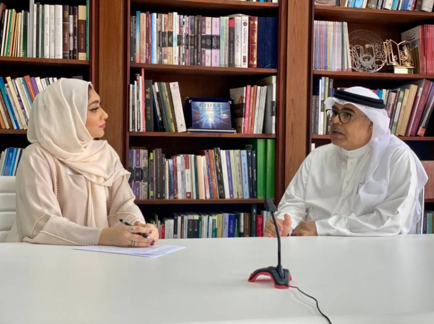 الدكتور عبدالعزيز المسلم خلال الاستضافة