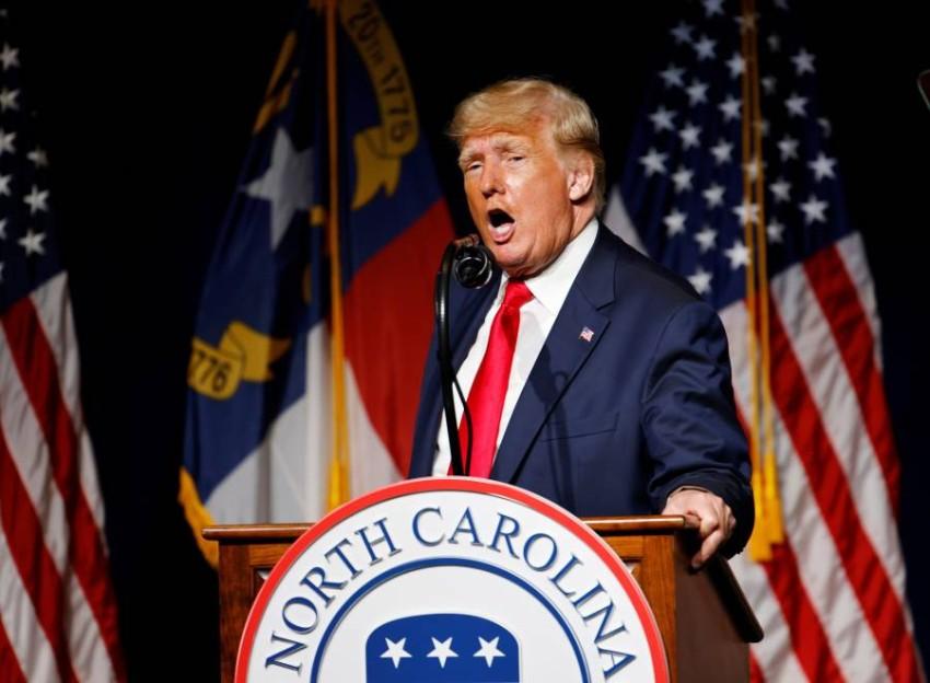 الرئيس الأمريكي السابق ترامب. (رويترز)