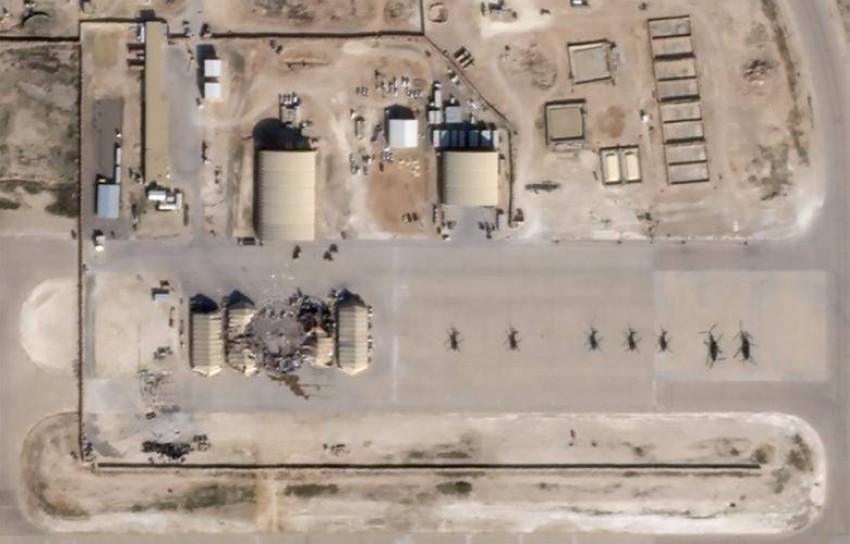 قاعدة «عين الأسد» الجوية. (رويترز)