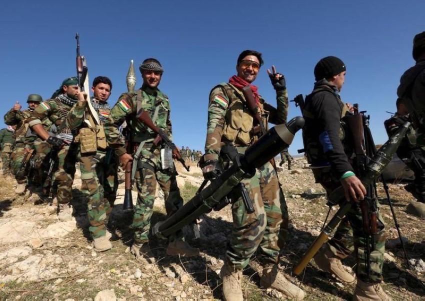 قوات البيشمركة في العراق. (رويترز)