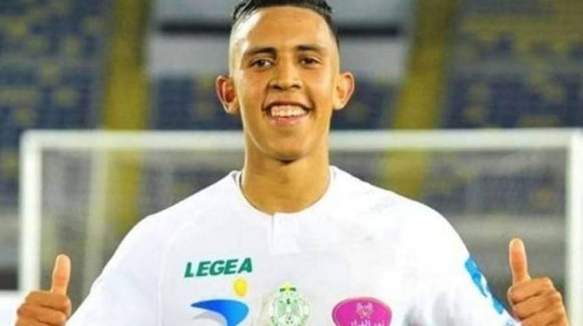 سفيان رحيمي لاعب الرجاء المغربي. (الحساب الرسمي للرجاء)