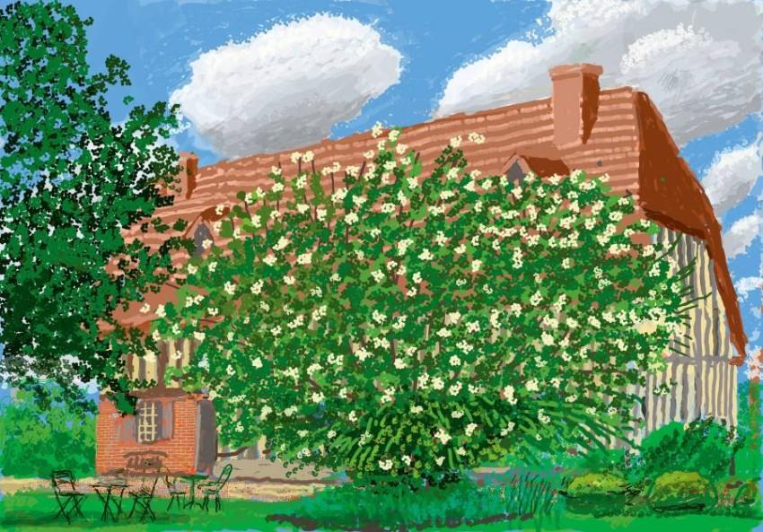 أزهار تستلهم لوحات فان جوخ