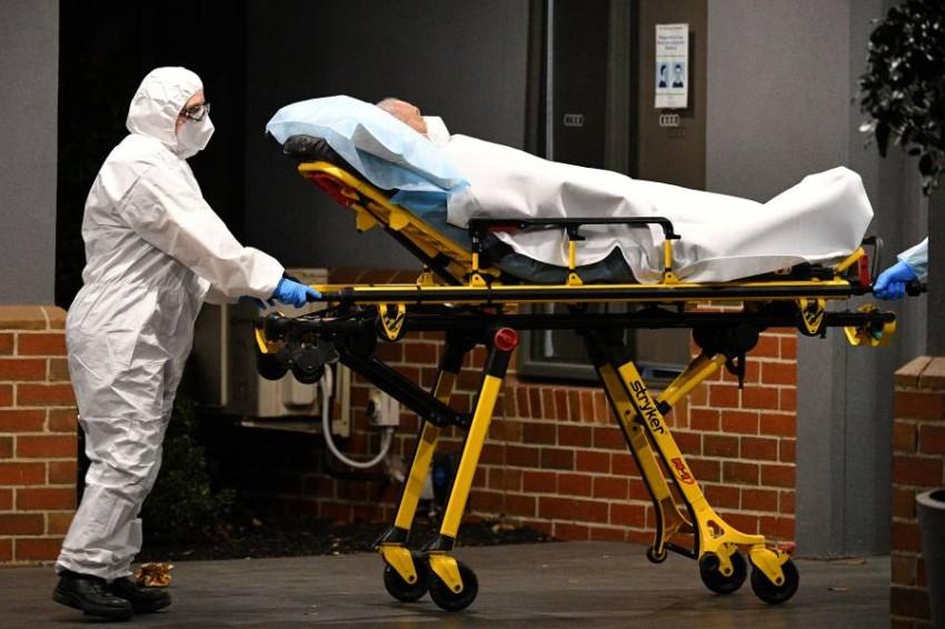 تم تسجيل 848 حادثة عنف مرتبطة بالوباء من فبراير إلى ديسمبر 2020 - رويترز.