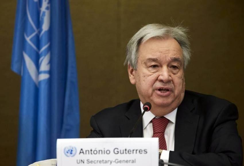 انطونيو غوتيريش - رويترز.