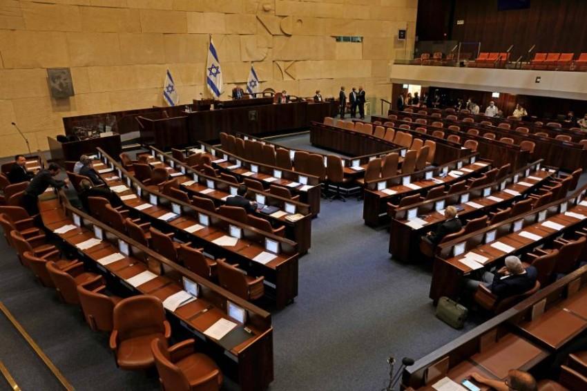الكنيست سيجري يوم الأحد تصويتاً على الموافقة على حكومة جديدة - أ ف ب.