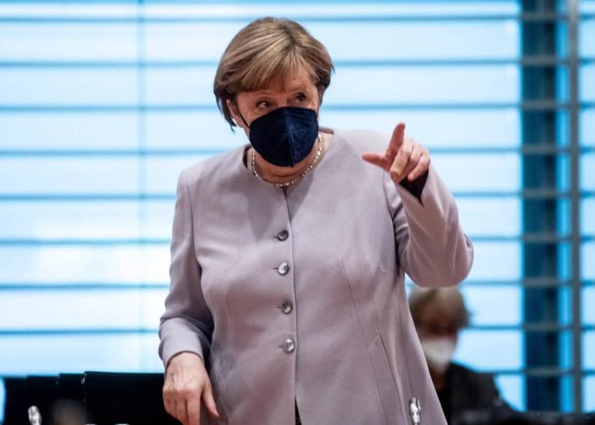 ألمانيا تبذل جهودا مكثفة لاعادة الاستقرار إلى ليبيا.(إ ب أ)