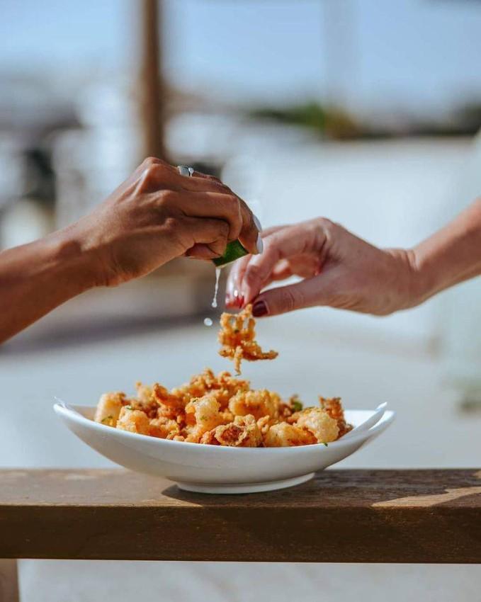 الأكلات البحرية في NOÉPE