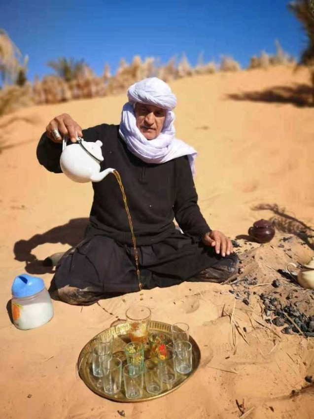 تقاليد الضيافة في الصحراء
