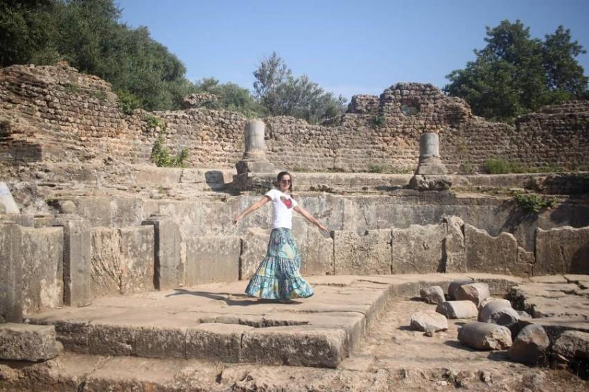 آثار رومانية في تيبازا