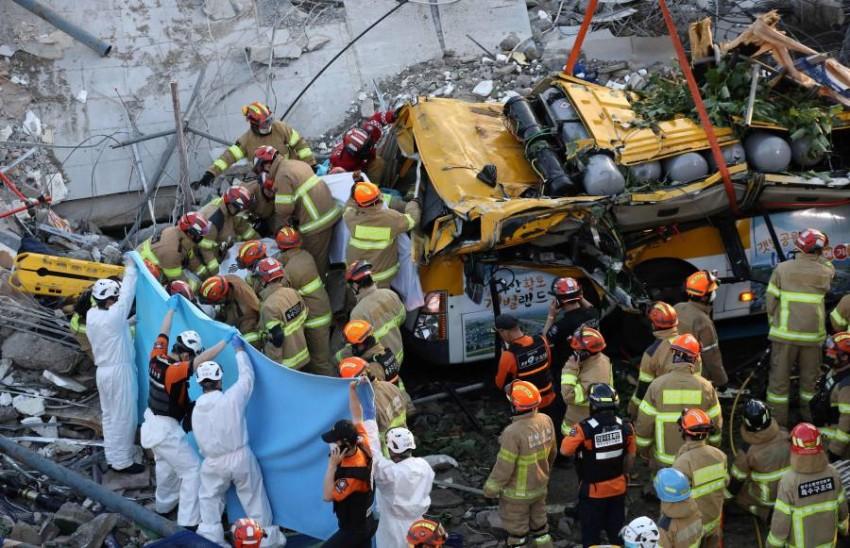 وقع الحادث في مدينة غوانجو في جنوب غرب سيؤول.