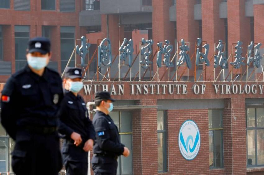 مقر معهد ووهان لعلوم الفيروسات في الصين. (رويترز)