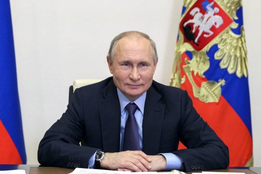 الرئيس الروسي فلاديمير بوتين. (أ ب)