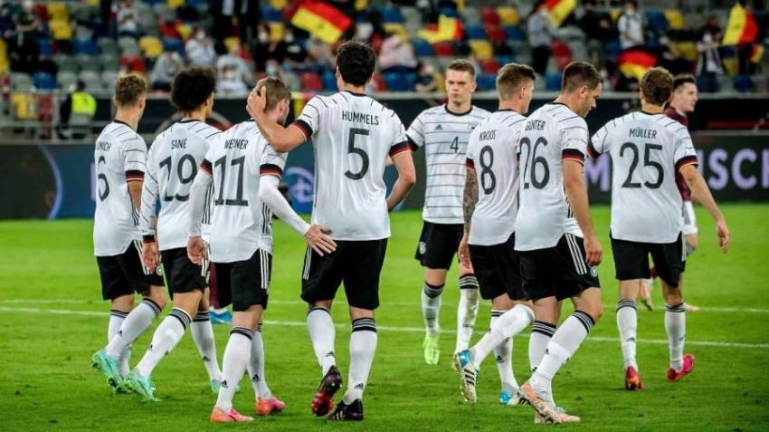 منتخب ألمانيا قبل يورو 2020. (تويتر)