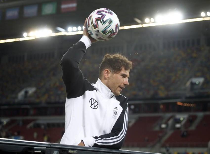 لاعب الوسط الألماني ليون غوريتسكا. (رويترز)