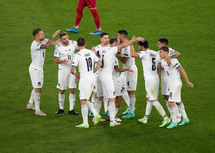 منتخب إيطاليا. (غيتي)