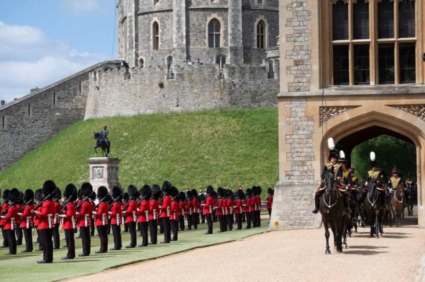 عيد ميلاد الملكة الفعلي في 21 أبريل لكن يتم الاحتفال رسمياً به في يونيو - أ ف ب.