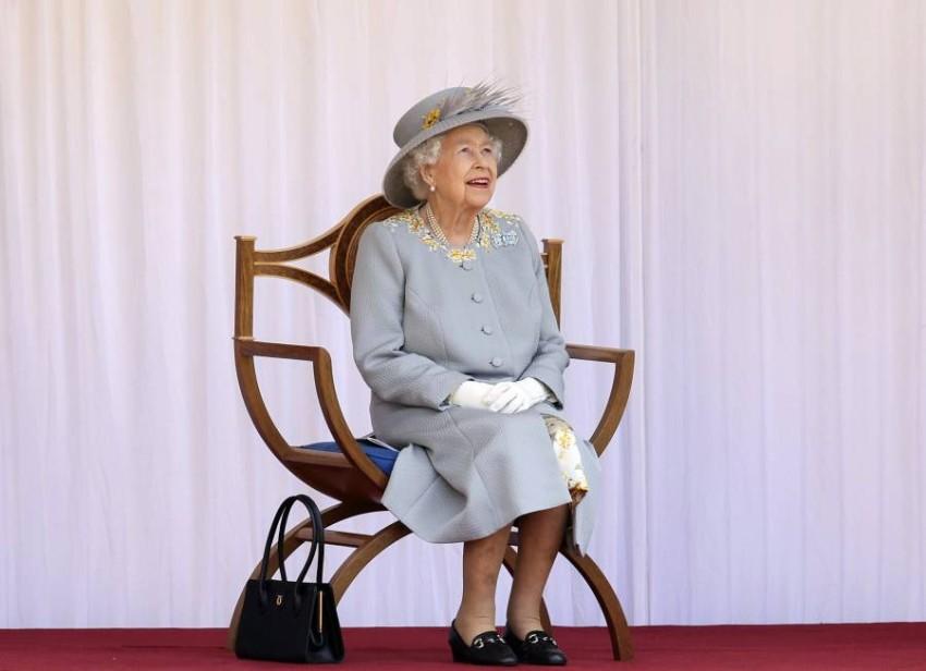كان عرض عيد الملكة إليزابيث محدوداً خلال العامين الماضيين بسبب جائحة كوفيد-19 - رويترز.