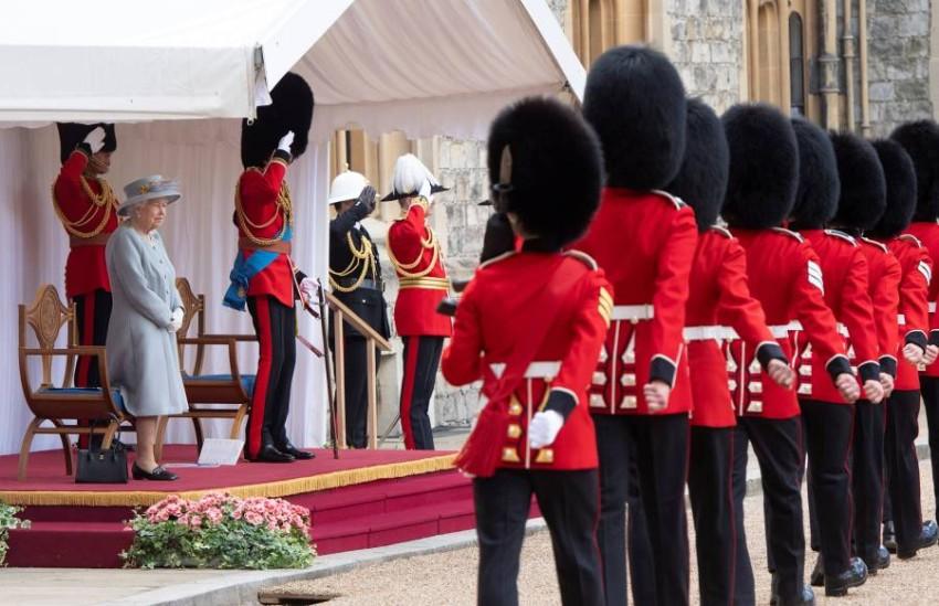 لقطات من الاحتفال بعيد ميلاد الملكة - رويترز.