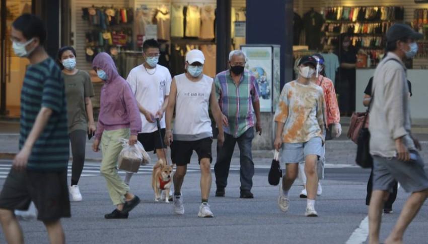 التزام بالإجراءات الاحترازية في تايوان أفضى إلى انخفاض الإصابات. (أ ب)
