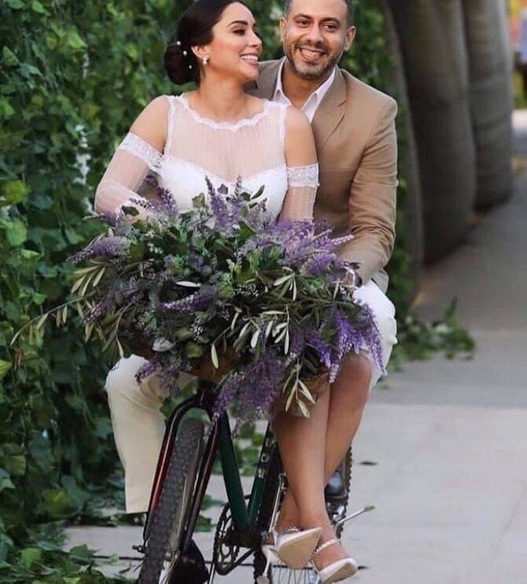 فستان زفاف بسنت شوقي